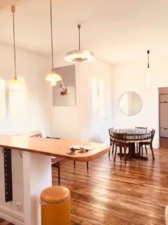 Appartement de deux pièces meublé