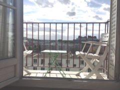 Deux pièces avec balcon